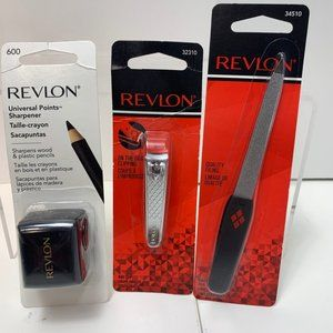 LOT OF 3- REVLON Self Care Tools- File, Clippers,